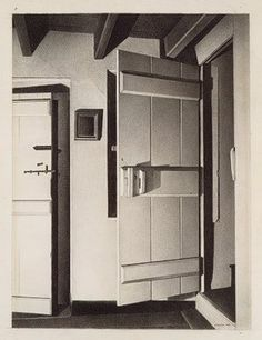 Draw Everything Like a Pro   <   The Open Door by Charles Sheeler, 1932, conté crayon on paper, mounted on cardboard.