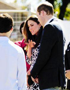 The Duke and Duchess of Cambridge in Australia, April 2014
