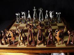 DE: Moderna, Zinn&Kupfer, Patina; EN: Modern, tin&copper, patina