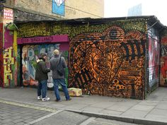 Brick Lane is famous for curries, record shops, vintage markets and all things cool. So, obviously it's a favourite hangout of mine. V & A Museum, Museum Exhibition, Brick Lane, The V&a, Vintage Market, Curries, Catwalk, Places To Go, Street Art