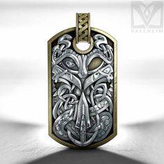 Odin dog tag- Silver edition | Vallheim