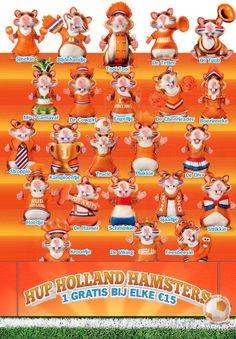 WK 2014 Albert Heijn Kleijnen Hoensbroek Oranje Hup Holland!