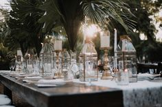 Old Hollywood Inspired Hemingway House Wedding in Key West, Florida.  Setup by Great Events Catering and Duarte Floral Design