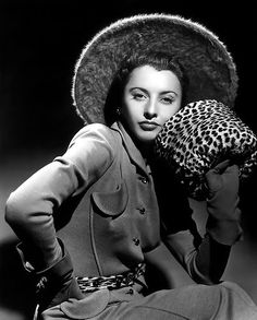 Leopard Coat Barbara Stannie