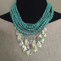 Acapulco Necklace around the neck and Monterey Necklace are a GREAT combo to try! From Premier Designs Collection. billn9638@msn.com