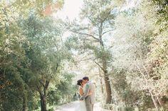 Real Wedding: Kristin and Matt | Venue: Rancho Las Lomas // Photographer: Sargeant Creative // Wedding Planner: Kerri Hatter of LVL Weddings & Events // Caterer: 24 Carrots // Florist: Whitney Rose Events