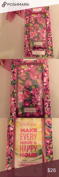 New Lilly Pulitzer Phone Case iPhone 6 phone case. The style is wild confetti. New in the box with tags. Great gift! Lilly Pulitzer Accessories Phone Cases
