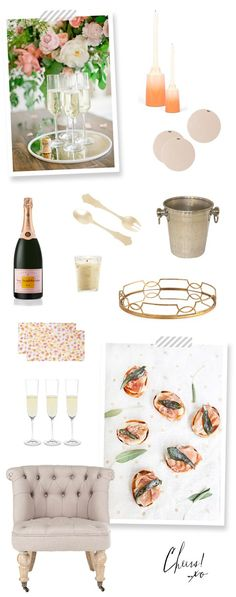 Champagne Party Ideas!