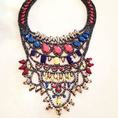 Obsessed with this BCBG statement necklace