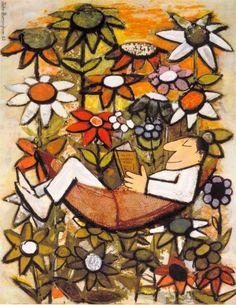 Lectura primaveral (Ilustración de John Burningham)