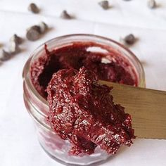 Red velvet nut butter... Peanuts butter and beets!
