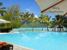 What a sight.... #Bora Bora
