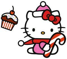 Hello Kitty baston navideño ....... LUPIS REYNA
