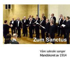 """Påskehøytid i Mandskoret. """"Heilig, heilig, heilig! Heilig ist der Herr! Franz Schubert - Deutsche Messe - Zum Sanctus Mandskoret av 1914 i Udland kirke Haugesund. Du finner hele sangen på vår YouTube kanal; https://www.youtube.com/user/Mandskoret1914"""