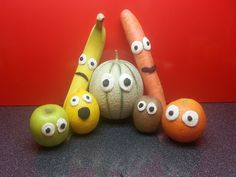 Play Doh Funny  Fruits
