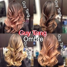 SuperNatural shades of Ombré! HD quality color! Customized, Personalized, and unique! #ombre #balayage #highlights