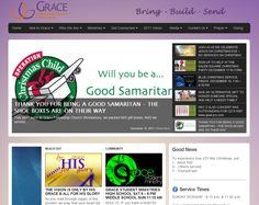 I built this highly flexible website for my church :)