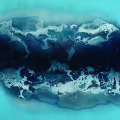 "Saatchi Art Artist Fintan Whelan; Painting, ""Atlantic Sky"" #art"