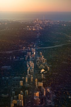 looking south towards Lake Ontario along the world's longest street - Yonge Street, from downtown North York towards downtown Toronto, Ontario, Canada. Photo by Jose Ongpin. Love this city. Canada Toronto, O Canada, Canada Travel, Canada Trip, Ottawa, Ontario, Vancouver, Places To Travel, Places To See