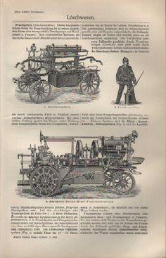 1908 Löschwesen. Feuerwehr Feuerlöscher
