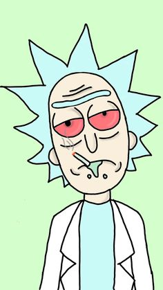 RICK Trippy Rick And Morty, Rick And Morty Drawing, Rick I Morty, Hippie Painting, Trippy Painting, Ricky And Morty, Rick And Morty Poster, Marijuana Art, Weed Art