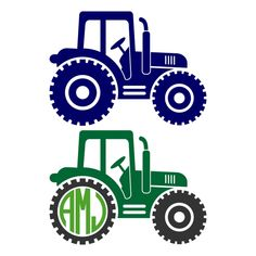 Tractor Pack Cuttable Design
