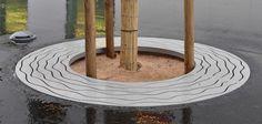 Perla C Q tree-grilles - Metalco Mobiliar