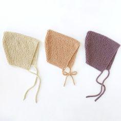 Spring Garter Bonnet – Free Pattern