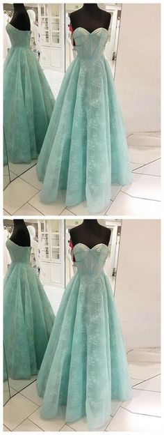 Simple Prom Dresses,New Prom Gown,Vintage Prom Gowns,Mint green long prom dress, sweetheart neck evening dress Princess Prom Dresses, Cute Prom Dresses, Prom Dresses 2018, Beautiful Prom Dresses, Dress Prom, Party Dresses, Prom Gowns, Mermaid Dresses, Long Dresses