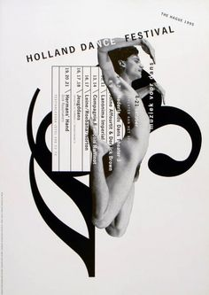 Holland Dance Festival, 1995. Gert Dumbar