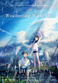 Title : Weathering With You Released Date : 19 Jul 2019 Genre : Animation Fantasy Weathering With You Plot : A young man befriends a girl who can manipulate the weather. Bon Film, Film D'animation, Tv Series Online, Movies Online, Stop The Rain, Cinema, Art Anime, Full Movies Download, Movies 2019