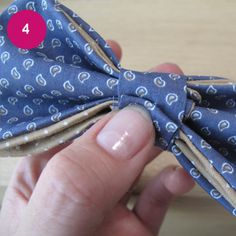 DIY : noeud papillon pour joli PAPA