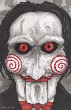 Saw Jigsaw Billy by ChrisOzFulton on DeviantArt