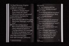 Redesign des Jahresberichts der HfG Karlsruhe | Slanted - Typo Weblog und Magazin