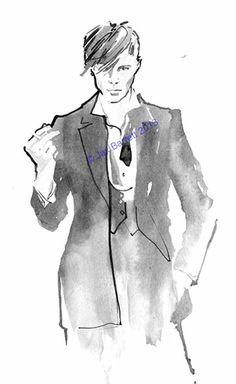 JACK  Fashion Illustration by Jaxbarrett,