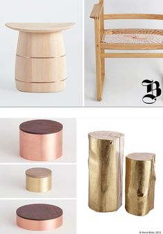 Trendbible - Wood and gold