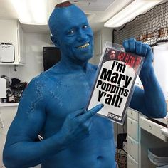 "3 Likes, 1 Comments - Andrew Spaugh (@kahunadrew) on Instagram: ""Yondu was epic in Guardians of the Galaxy Vol.2. #imMaryPoppinsYall #yondu #gotgvol2"""