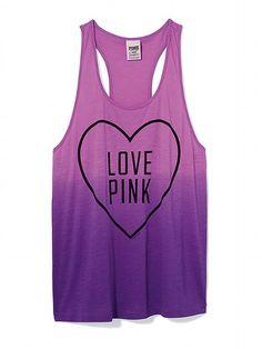 PINK Racerback Tank #VictoriasSecret http://www.victoriassecret.com/pink/tees-and-tanks/racerback-tank-pink?ProductID=101363=OLS=true?cm_mmc=pinterest-_-product-_-x-_-x