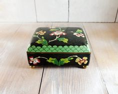 Hey, I found this really awesome Etsy listing at https://www.etsy.com/listing/512606271/antique-chinese-black-cloisonne-enamel
