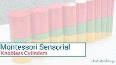 Montessori Sensorial: Knobless Cylinders Lesson