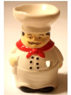 Fat Italian Chef Wax Melt Burner Candle Holder Let This Little Fellow Light  Up Your Kitchen