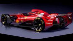 Meet Ferrari's F1 car of the future - BBC Top Gear