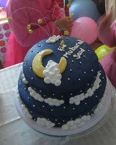 ramadan - eid cake Ramadan Sweets, Ramadan Gifts, Ramadan Recipes, Eid Cupcakes, Eid Cake, Iftar Party, Eid Party, Fondant Cakes, Cupcake Cakes