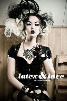 Amelia Arsenic, Latex & Lace Styledivision
