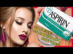 Aspirin, Facial Yoga, Healthy Life, Health Fitness, Eyeshadow, Youtube, Crocheting, Tejidos, Masks