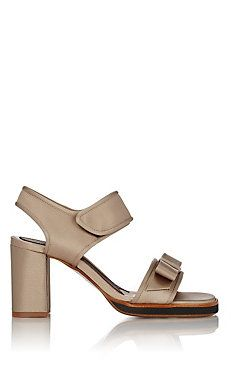 Marni Bow-Embellished Slingback Sandals