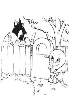 Baby Looney Tunes Ausmalbilder 83