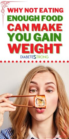 Are you on a workout and diet plan to lose weight? Do you know that eating not enough food can make you gain weight, instead of losing weight? Find out why on this post. #losingweight #dieting #fitnesstips #gainweight #healthtips #mealplanning #nutrition #diabetestips #diabetesstrrong
