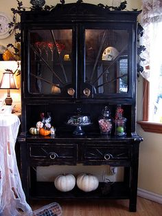 #Goth hutch and cupboard