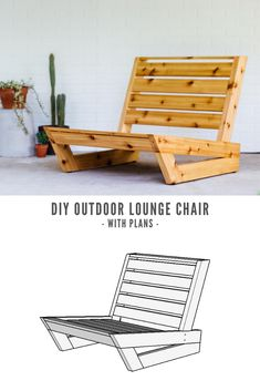 Diy Furniture Plans Wood Projects, Diy Outdoor Furniture, Deck Furniture, Woodworking Projects Diy, Pallet Furniture, Furniture Design, Furniture Ideas, Out Door Furniture, Pallet Chairs